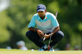 Anirban Lahiri played well in the third round at the Colonial Country Club