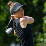 Lynn Carlsson took a share of the lead in the Thailand Championship