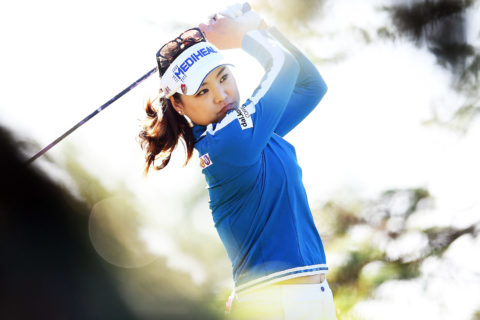 So Yeon Ryu shot 64 in the first round of the Meijer LPGA Classic