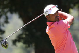 Anirban Lahiri at the Greenbrier Classic