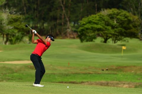 Himmat Rai shot 67 in the second round of Sarawak Championship