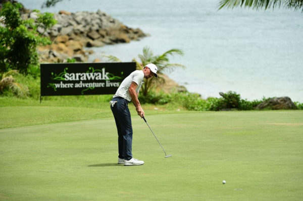 Paul Peterson at the Sarawak Championship
