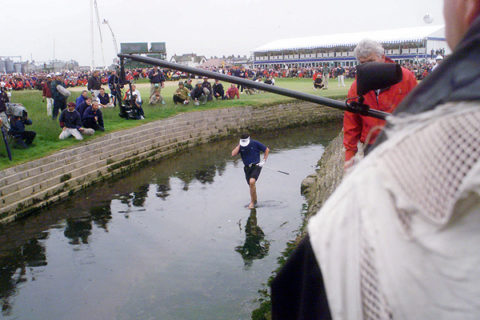 The Jean van de Velde meltdown at the 18th in Carnoustie is an iconic Open Championship moment