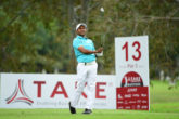 SSP Chawrasia in the first round of the Take Solutions Masters