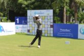 Arjun Prasad is in a share of the lead at the halfway stage of the QA Infotech Open